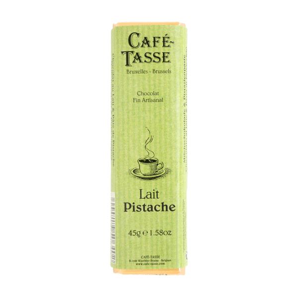 Café-Tasse белгийски шоколад-млечен с шамфъстък